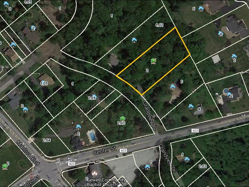 88 acre building lot lot for sale sewell gloucester for Build on your lot new jersey