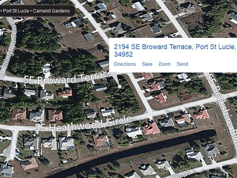 .26 Acres In Port Saint Lucie, FL : Port Saint Lucie : Saint Lucie County : Florida