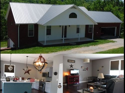 5.41 Acres & Home In Smith Co : Brush Creek : Smith County : Tennessee