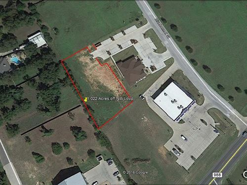 1+ Acre Commercial/Retail Lot : Stephenville : Erath County : Texas