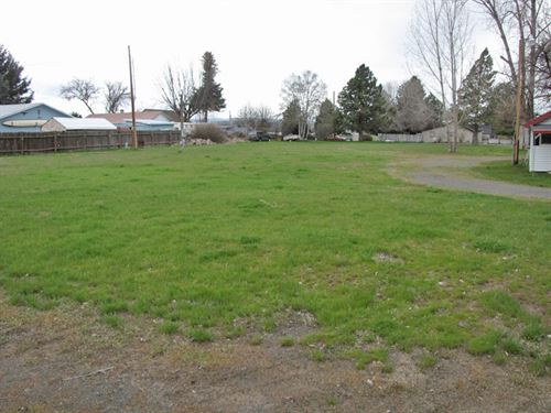 Commercial Lot Downtown Bonanza : Bonanza : Klamath County : Oregon