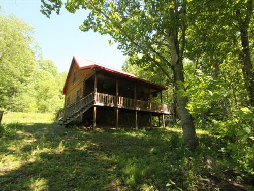 Cabin Joining J.N.F. : Mouth Of Wilson : Grayson County : Virginia