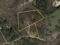 7.44 Acres Former Small Mobile Home : Six : Pickens County : South Carolina