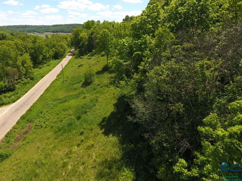 Scenic Lot Located In The Bluffs : Lone Rock : Sauk County : Wisconsin