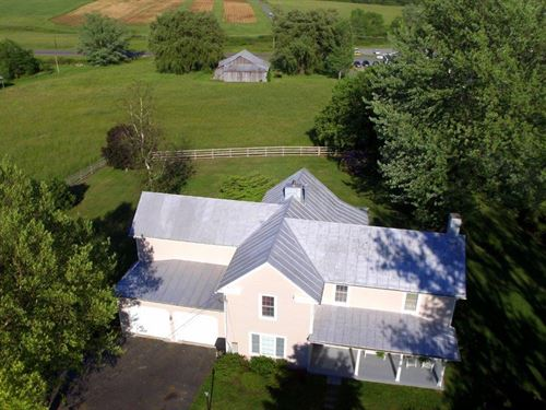 For Sale 1900S Farm House W/ 5 Acre : Bent Mountain : Roanoke County : Virginia