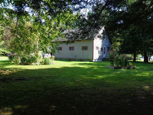 Deering Lake Home & Guest Cottage : Orient : Aroostook County : Maine
