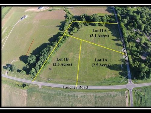 Great Building Site On 2.5 Acres : New Albany : Delaware County : Ohio