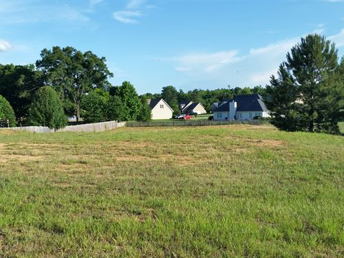 Lot To Build On In Whispering Lakes : Madison : Morgan County : Georgia