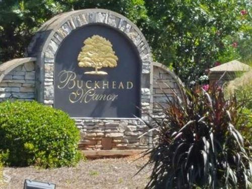 108 Beautiful Lot In Buckhead Manor : Madison : Morgan County : Georgia