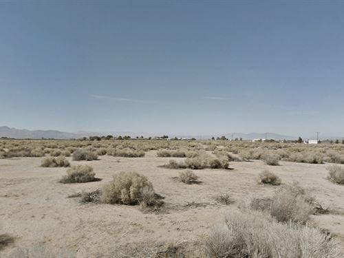 .15 Acres In California City, CA : California City : Kern County : California