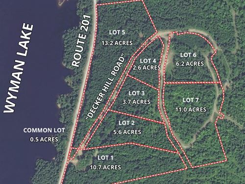 Lot 3 Decker Hill Road : Moscow : Somerset County : Maine