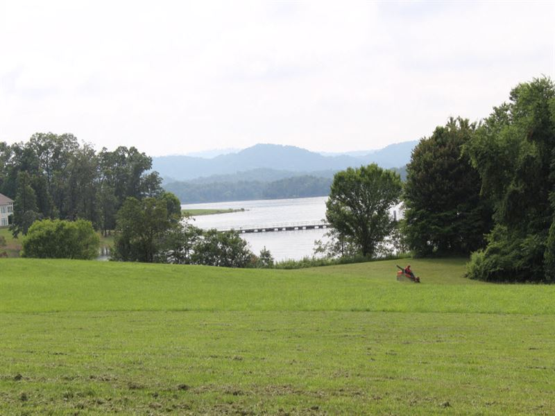 Cherokee Lake Front Lot : Rutledge : Grainger County : Tennessee