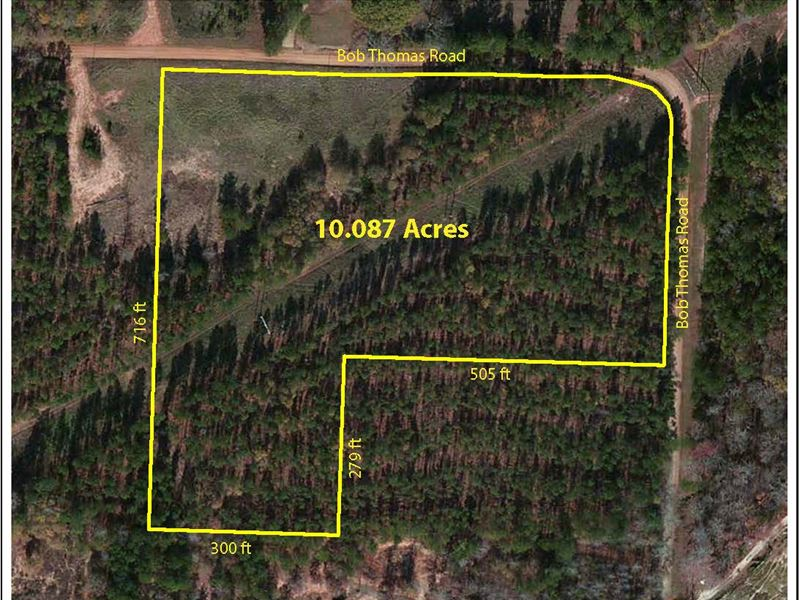 10 Acre Country Home Site : Jackson : Butts County : Georgia
