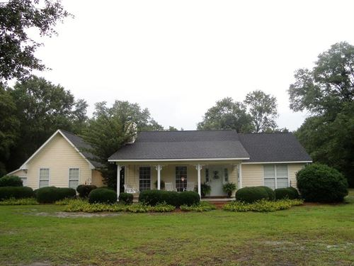 Home With 7+ Acres : Jesup : Wayne County : Georgia