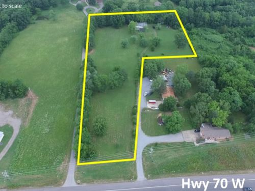 3.55 Acre Tract Near I-40 : Mt Juliet : Wilson County : Tennessee