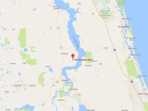 1.25 Acres In Palatka, FL : Palatka : Putnam County : Florida