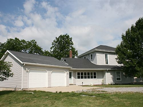 Real Estate Auction : South Whitley : Whitley County : Indiana