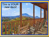 Coffee On Your Deck, Only $12K : Sevierville : Sevier County : Tennessee