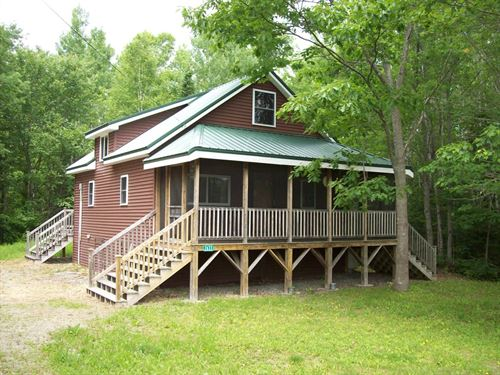 Mattawamkeag River Chalet : Bancroft : Aroostook County : Maine