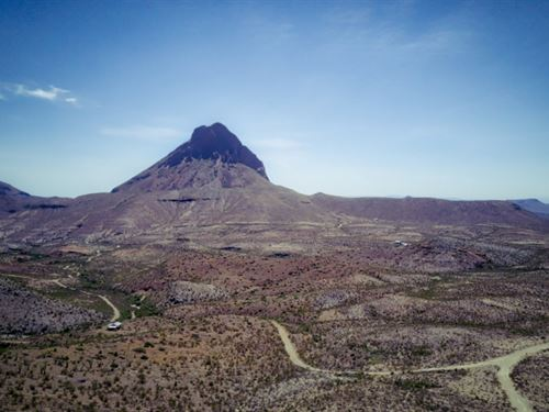 Tract 989: 20 Acres With Power : Terlingua : Brewster County : Texas