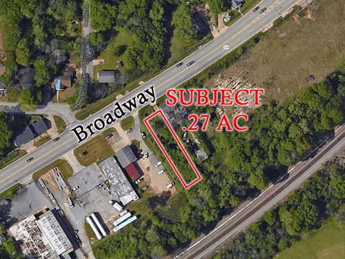 .27 Acres - Light Industrial : Macon : Bibb County : Georgia