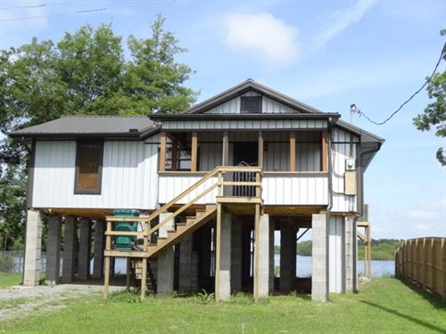 Cabin On Mud Lake - Ar River : Reydell : Jefferson County : Arkansas