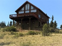Kid Peak Cabin : Creede : Mineral County : Colorado