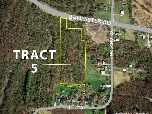 Tract 5 - 9.37 Acres : Kansas City : Jackson County : Missouri