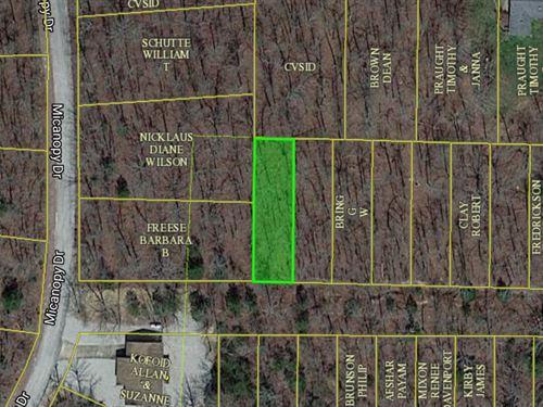 2.58 Acres In Cherokee Village, ar : Cherokee Village : Sharp County : Arkansas