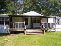 Home & 3.98 Acres Southwest Mis : McComb : Pike County : Mississippi