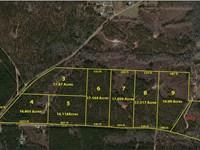Nice Wooded Acreage Properties : Thomaston : Upson County : Georgia