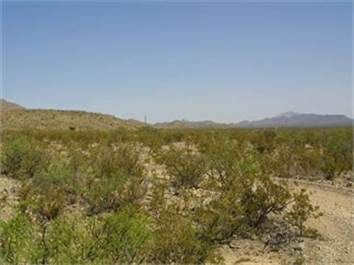 Beautiful Lot In Paradise Valley : Sierra Blanca : Hudspeth County : Texas