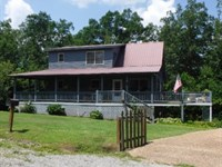 Beautiful Rustic Home W/ Ac & Views : Crawford : Overton County : Tennessee