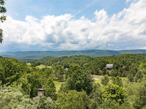 Elegant Country Manor : Basye : Shenandoah County : Virginia