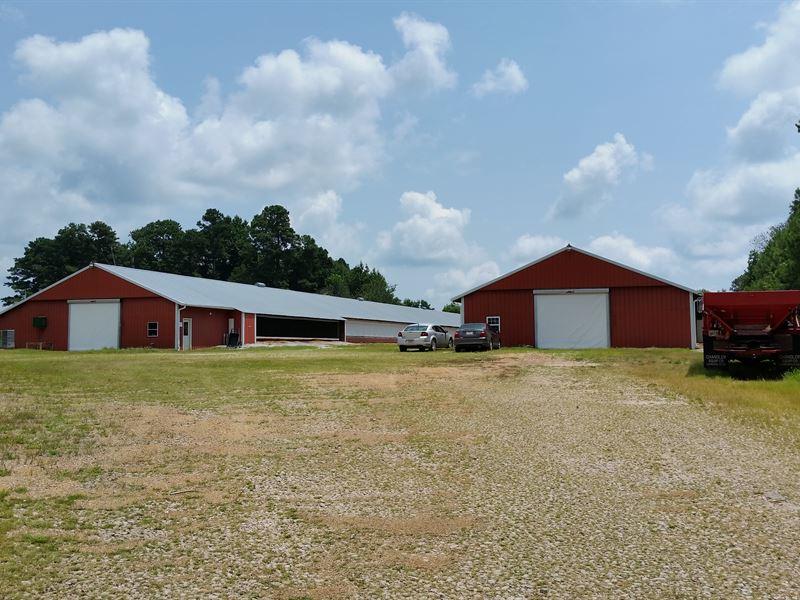 Two House Breeder Farm : Woodland : Randolph County : Alabama