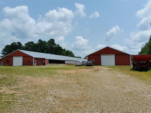 Two House Breeder Farm : Woodland : Randolph County : Alabama