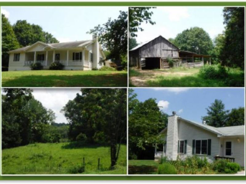 3 Ac W/Hm, Rv Carport, Barn, Pond : Hilham : Overton County : Tennessee