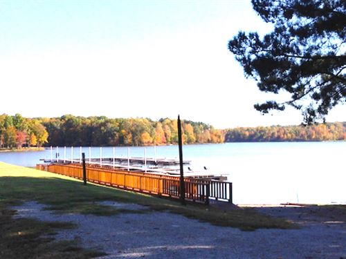 Lot 97 Is A 1.5 Ac Water Front Lot : Cedar Grove : Carroll County : Tennessee
