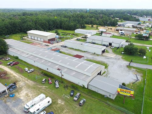 Industrial Buildings On 5 Acres : Byron : Peach County : Georgia
