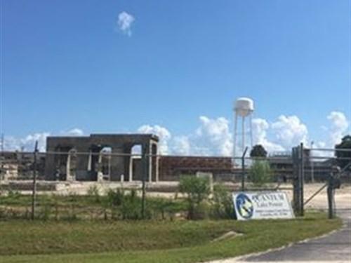 2.5 Acres Fenced Industrial Land : Umatilla : Lake County : Florida