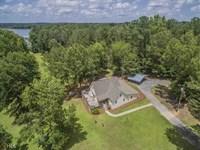 Home W Lake Oconee Views Year Round : Eatonton : Putnam County : Georgia