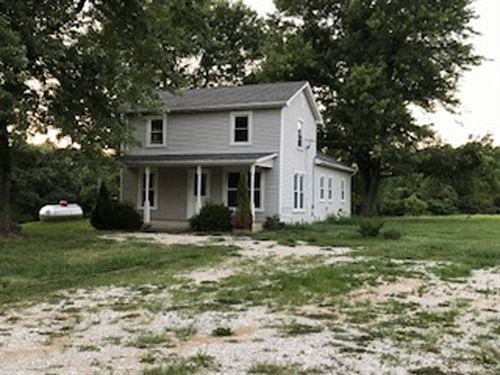 Farm With 3Br Home : Batchtown : Calhoun County : Illinois