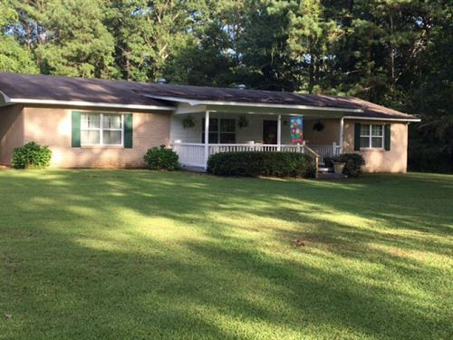 Country Home For Sale With 5 Acres : Bogue Chitto : Lincoln County : Mississippi