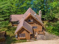 Chalet Home On The Perfect Setting : Manitowish Waters : Vilas County : Wisconsin