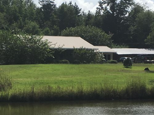 4 Bedroom Home On 7 Acres : Union Springs : Bullock County : Alabama