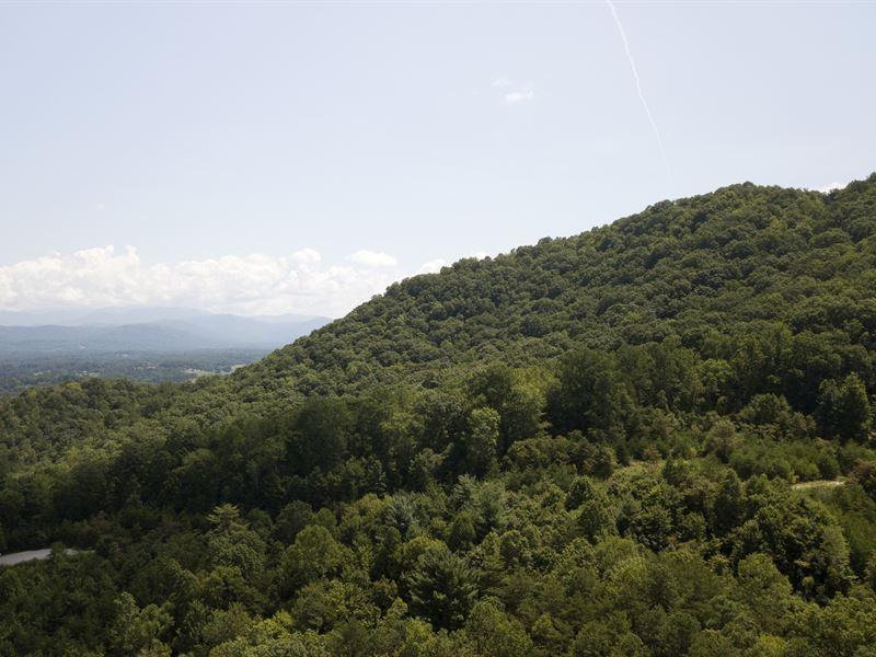 Blue Ridge Views Of Asheville : Asheville : Buncombe County : North Carolina