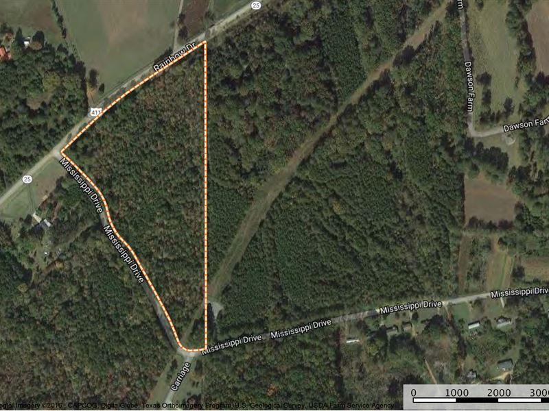 13.5+/- Acres - Country Living : Ashville : Saint Clair County : Alabama