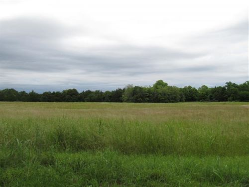 9.26 Acres, Will Divide : Tishomingo : Johnston County : Oklahoma