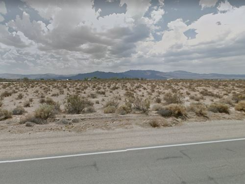4.26 Acres In Newberry Springs, CA : Newberry Springs : San Bernardino County : California