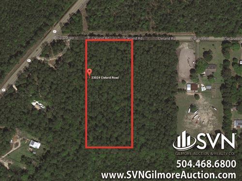 4.34 Acres Vacant Land : Covington : Saint Tammany Parish : Louisiana